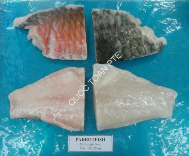 PARROTFISH PORTION SKIN-ON, BONELESS