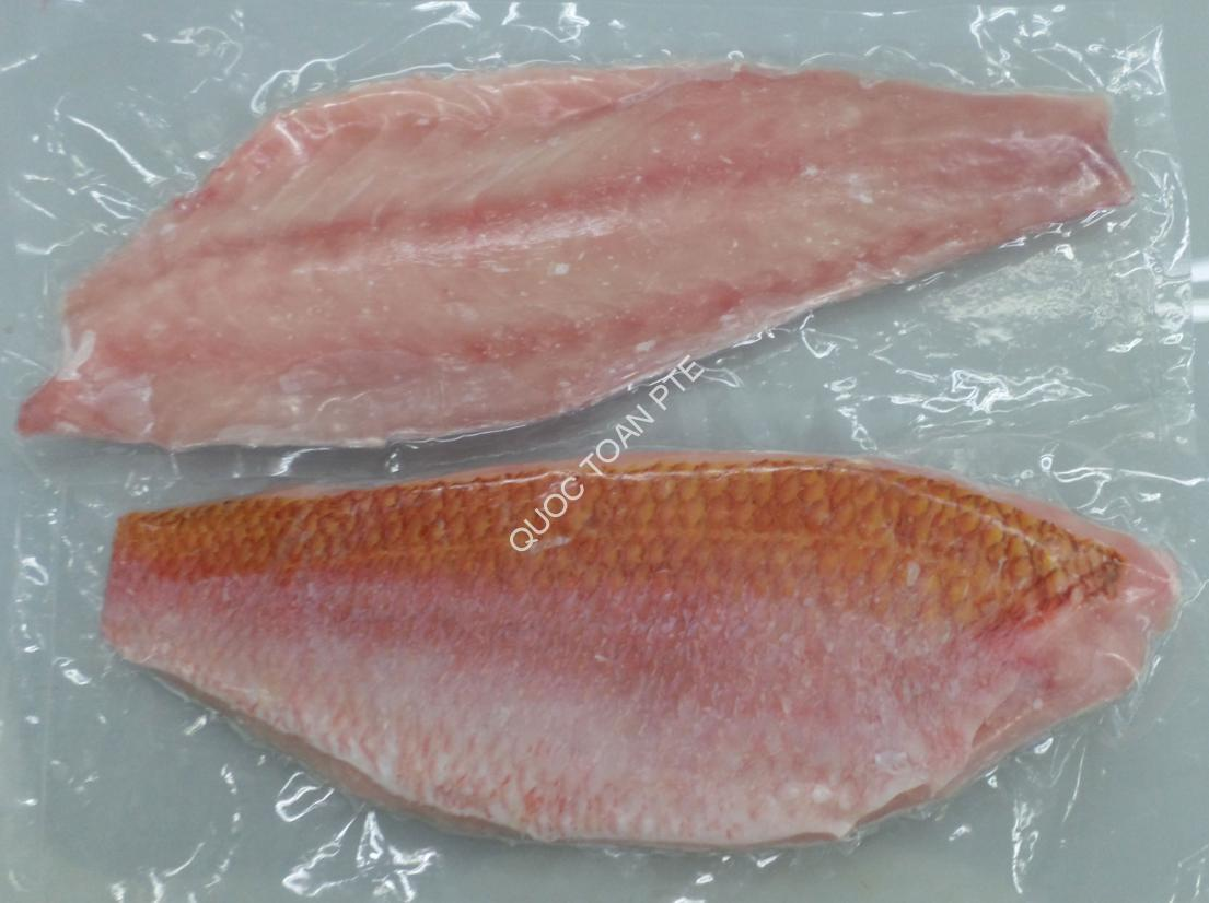 RUBY SNAPPER FILLET SKIN-ON, BONELESS, CO TREATED